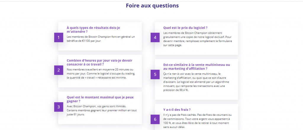 FAQ-French