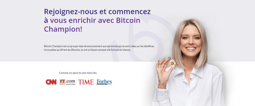 Bitcoin Champion- French