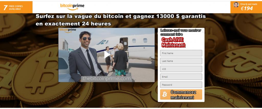Bitcoin prime Avis –  Plateforme d'échanges