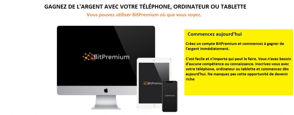 BitPremium Avis France- Features