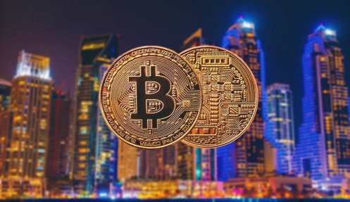 Dubai and Bitcoin image